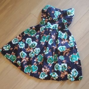 Rue 21 - Size XL- Strapless floral mini dress